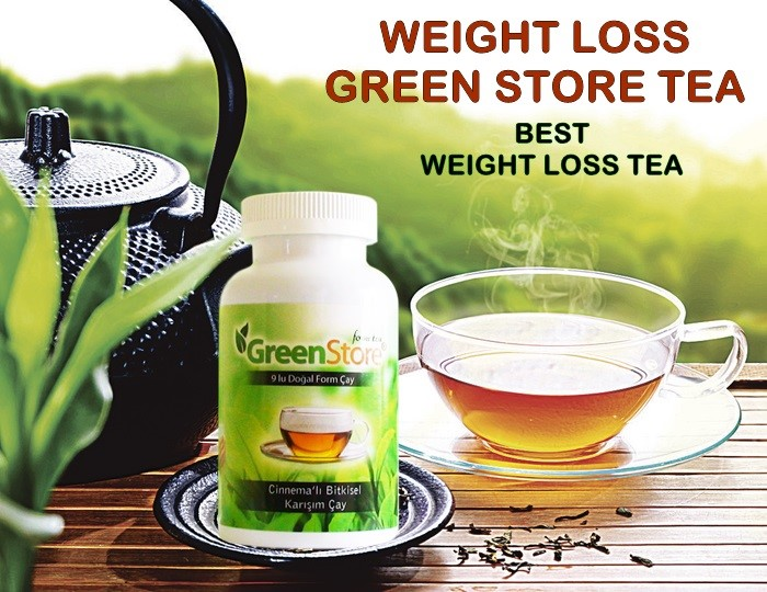 weight loss green store tea order